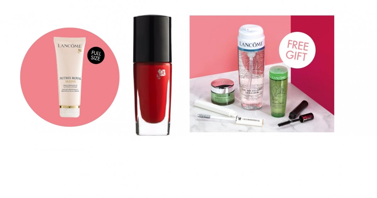 HOW TO GET A FREE LANCOME GIFT ON YOUR BIRTHDAY Simply Sign Up your Email address and enter your Birthday at the Official Lancome Website to get a: FREE Lancome Gift on your Birthday FREE Deluxe Samples Members Only Special Offers Latest Makeup Promotions LANCOME FREE MAKEUP BIRTHDAY GIFT. FREE MAKEUP AT BOOTS. FREEBIES. NARS FREE.