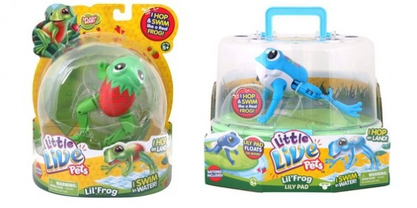 RECALL: Little Live Pet Lil Frog & Little Live Pet Lil Frog Lily Pad