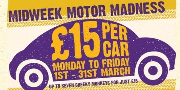 Knowsley Safari Park: £15 Per Car Weekdays In March