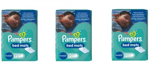 Pampers Bed Mats (21 Mats) £6.72 @ Amazon