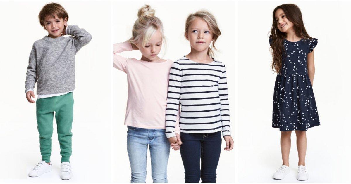 3 For 2 On Kids Basics Clothing H Amp M
