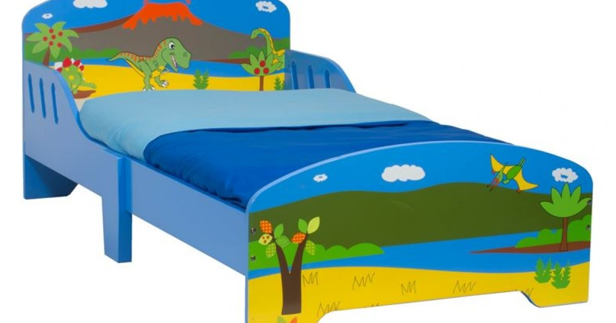 Dinosaur Wooden Toddler Bed £39.99 With Free Delivery @ Smyths