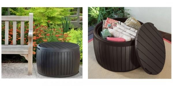 Keter Circular Plastic Garden Storage Table £23.99 @ Argos