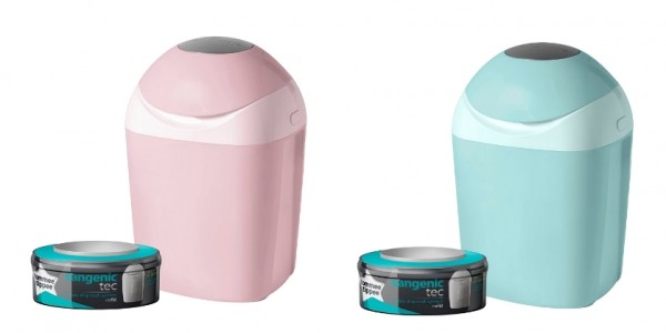 Tommee Tippee Sangenic Tec Nappy Disposal Tub Inc Green & Pink £10 @ Amazon