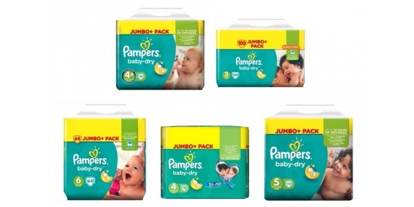2 For £20 On Selected Pampers Jumbo Packs @ Boots