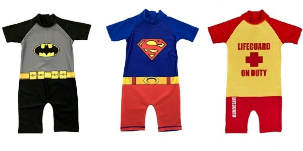 Sun Safe Character Swimsuits From £6.09 Delivered @ Amazon