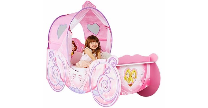 Disney Princess Carriage Toddler Bed GBP16999 Very
