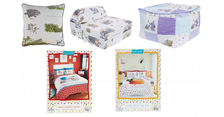 Roald dahl kids bedroom collection available from tk maxx Tk maxx home bedroom furniture