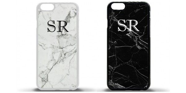 75% Off Personalised iPhone Marble Pattern Case £4.99 @ Go Groopie