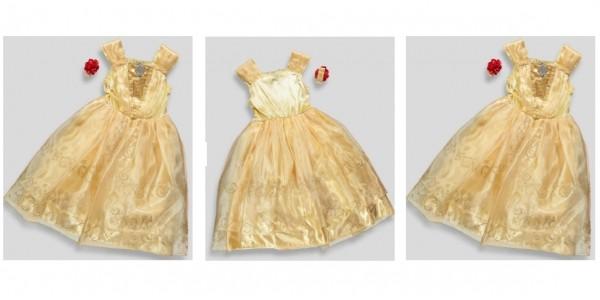 Kids Belle Beauty & The Beast Dress Up Outfit £16 @ Matalan