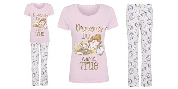 NEW Women's Beauty and the Beast Pyjamas £14 @ Asda George