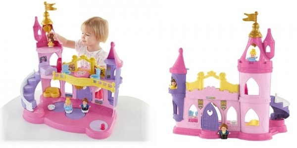 Little People Disney Princess Musical Dancing Palace £24.99 (was £49.99) @ Smyths Toys