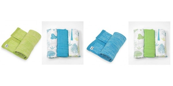Offer Stack: 3 SmarTrike Bamboo Swaddles/ Muslins & Knitted Blanket For £5 (Worth £33.48) @ Smyths (Expired)