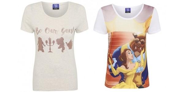 Disney Beauty and the Beast Women's Tops £7 Each @ Asda George