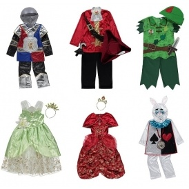 Fancy Dress Costumes From £8 @ Asda