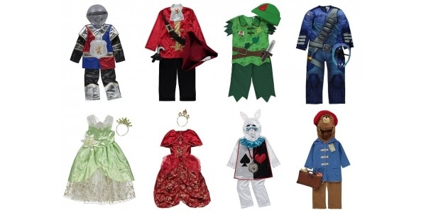 Fancy Dress Sale: Costumes Now From £8 @ Asda George