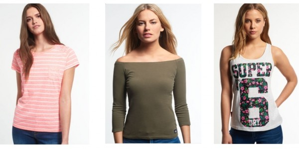 3 For 2 On Selected Women's £9.99 Tops Plus FREE Delivery @ eBay: Superdry Outlet