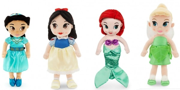 Selected Animator Soft Toy Dolls £10 @ Disney Store