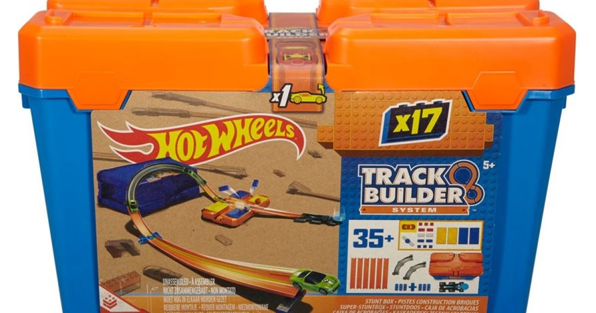 Hot Wheels Track Builder Stunt Box 163 9 99 Was 163 20 99