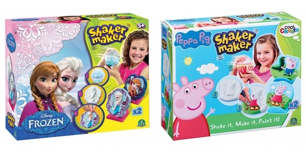 40% Off Peppa Pig or Frozen Shaker Maker Using Code @ The Entertainer
