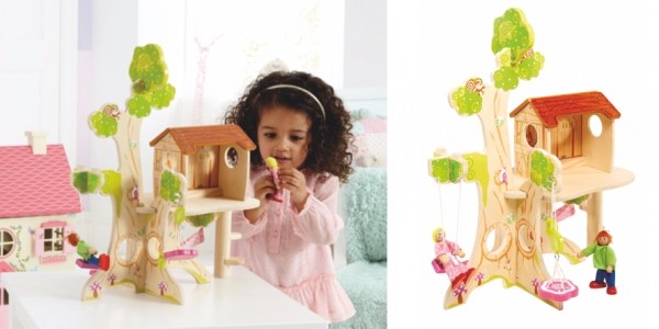 Wooden Tree House & Accessories £13.50 @ Asda George