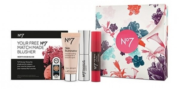 FREE No7 Spring Glow Gift Box When You Buy Any 2 No7 Cosmetics @ Boots