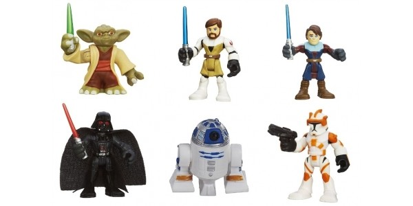 Buy One Get One Free on Star Wars Playskool Figures (Using Code) @ The Entertainer