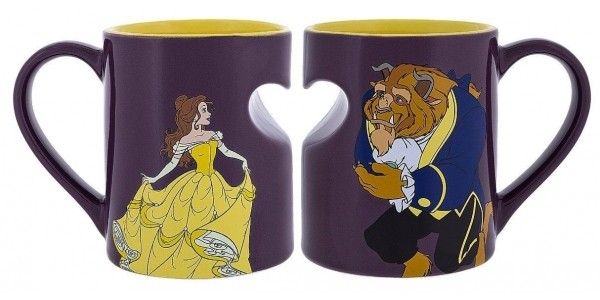 Beauty And The Beast Couple Mugs £8.99 Each @ The Disney Store