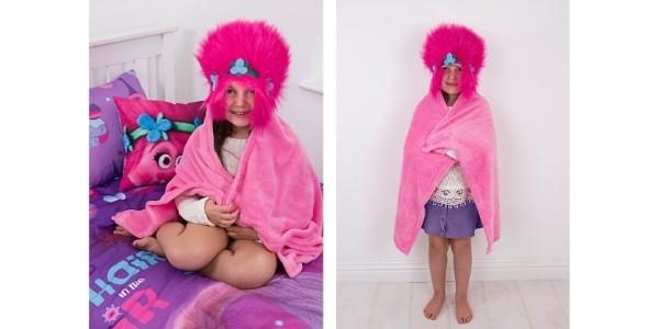 Trolls Poppy Cuddle Robe £10 @ Asda George
