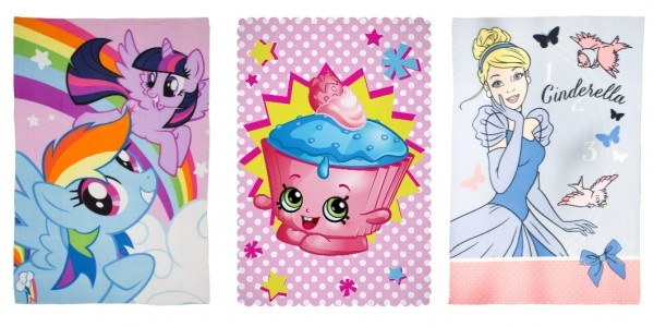 Character Fleece Blankets From £5 @ Very