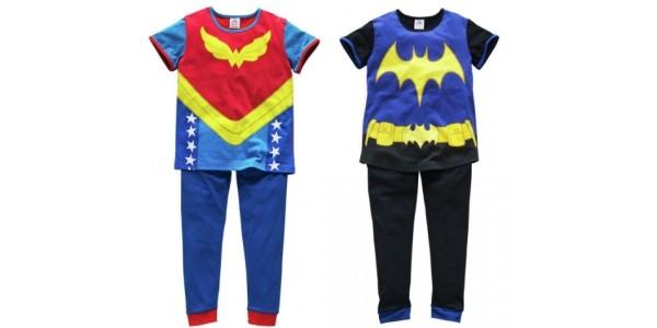 DC Superhero Girls Batgirl or Wonder Woman Pyjamas £6.74 (was £9.99) @ Argos