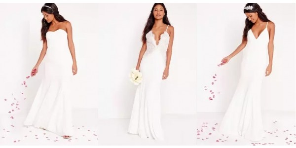 Wedding Dresses Now Available From £35 @ Missguided