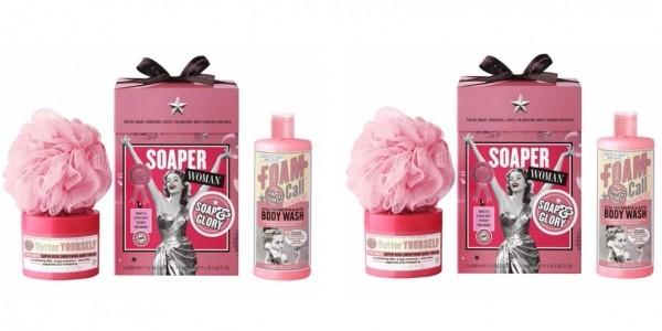 Soap & Glory SOAPER WOMAN Gift Set £9 @ Boots.com