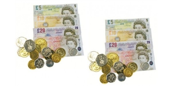 Henbrandt Sterling Play Money 80p Delivered @ Amazon Seller: Simply Direct Ltd