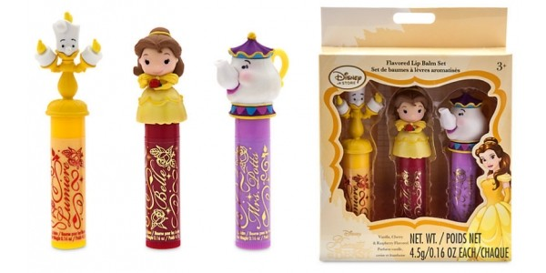 Beauty and The Beast Trio Of Lip Balms £5.99 @ Disney Store