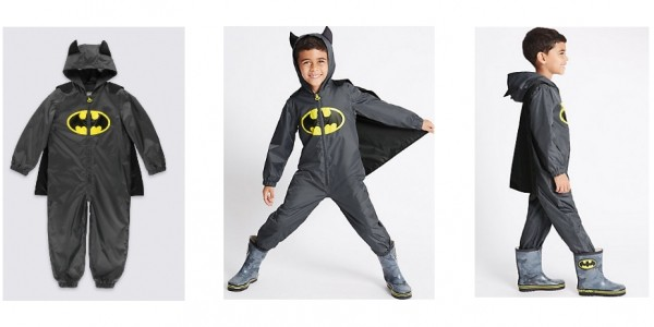Batman Puddle Suit £9 (Was £22) @ Marks And Spencer (Expired)