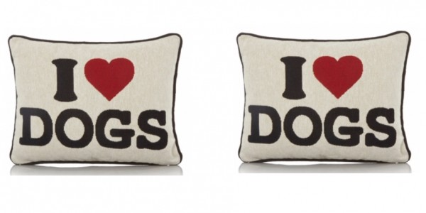 George Home I Love Dogs Cushion £3 @ Asda George (Expired)