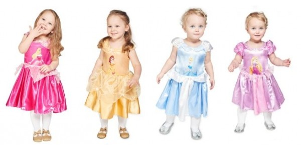 Baby Disney Princess Dress Up Outfits From 3 Months @ Kiddicare
