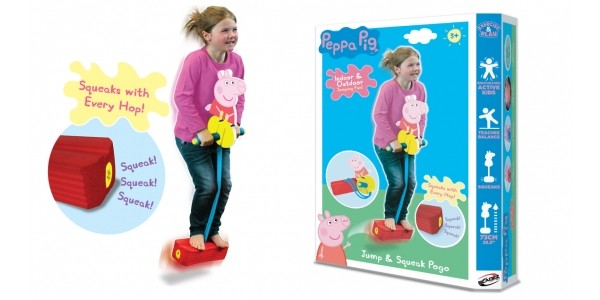 Peppa Pig Pogo 'Hop And Squeak' £16.99 With Free Delivery @ IWOOT