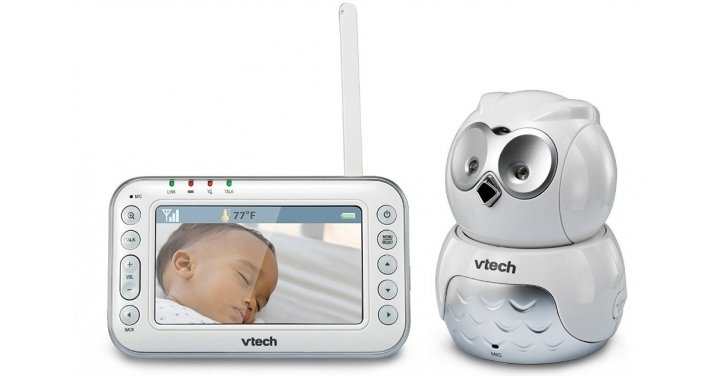 50 off vtech safe sound owl pan tilt baby monitor very. Black Bedroom Furniture Sets. Home Design Ideas