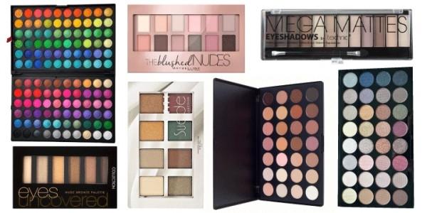 Best Budget Eyeshadow Palettes