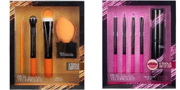 Real Techniques Prep & Prime Set/Luminous Lip Set £9.99 Delivered @ Superdrug