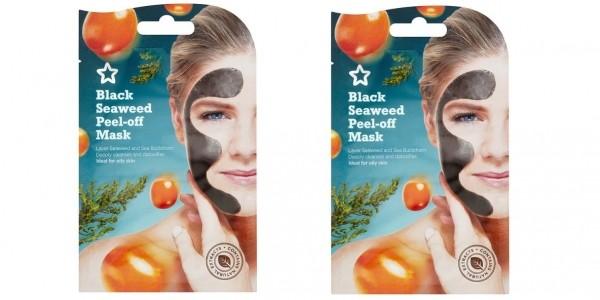 Superdrug Black Seaweed Peel Off Mask 10ml 99p Delivered (Or Three For £1.98 With FREE Versace Mini) @ Superdrug