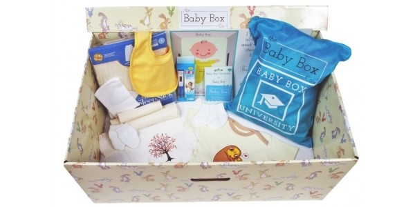 Free Baby Boxes Scheme Launched In Selected Areas Of England
