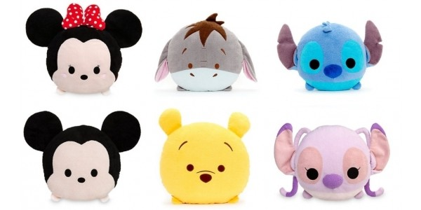 Large Disney Tsum Tsum Cushions Now £7 (was £16.99) With FREE Personalisation