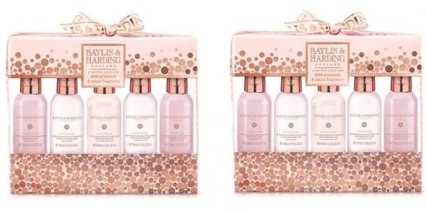 Baylis & Harding Pink Prosecco & Cassis 5 Bottle Set £5 Delivered @ Superdrug