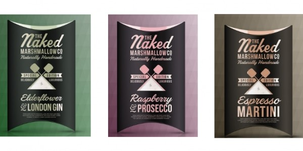 Raspberry & Prosecco/Elderflower & Gin Marshmallows £6 Delivered (With Code) @ The Naked Marshmallow Co