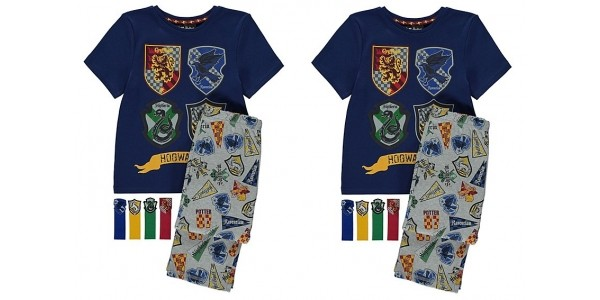 New Harry Potter Kids Pyjamas With Bookmarks From £9 @ Asda George