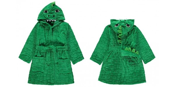 Dinosaur Dressing Gown Now £5 @ Asda George