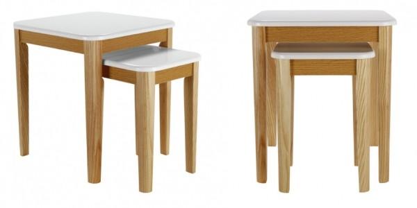 Hygena Skye Nest of 2 Tables £24.94 Delivered @ Argos